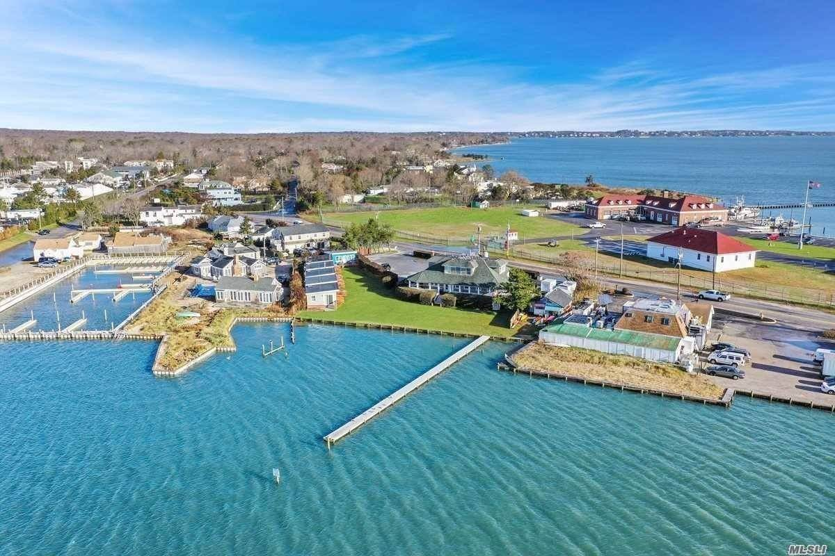 Commercial for Sale at Waterfront Restaurant & Inn - Hampton Bays 32 Lighthouse Road, Hampton Bays, NY 11946