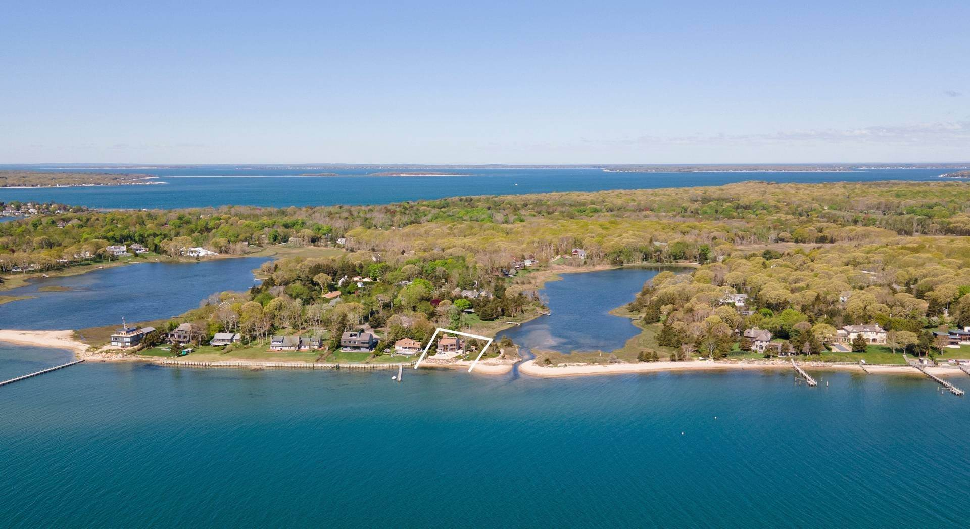 Single Family Home for Sale at Remarkable Sag Harbor Waterfront 36 East Harbor Drive, Sag Harbor, NY 11963
