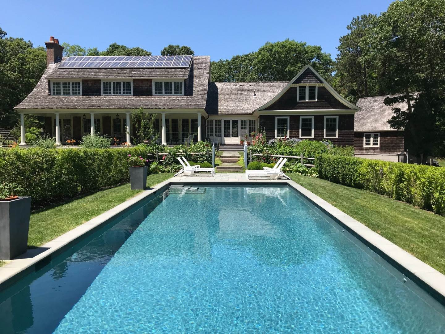 Single Family Home at Amagansett Cranberry Lane Private Oasis Amagansett, NY 11930