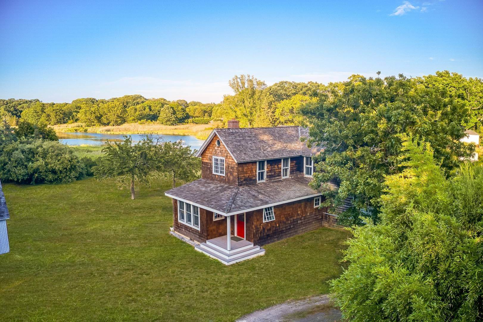 Single Family Home for Sale at Mattituck Waterfront Farmhouse On 2 Acres 1356 Grand Ave, Mattituck, NY 11952