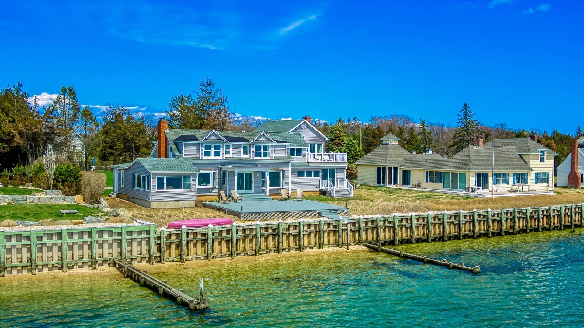 Single Family Home for Sale at Spectacular Southold Bayfront 380 Midway Rd, Southold, NY 11971