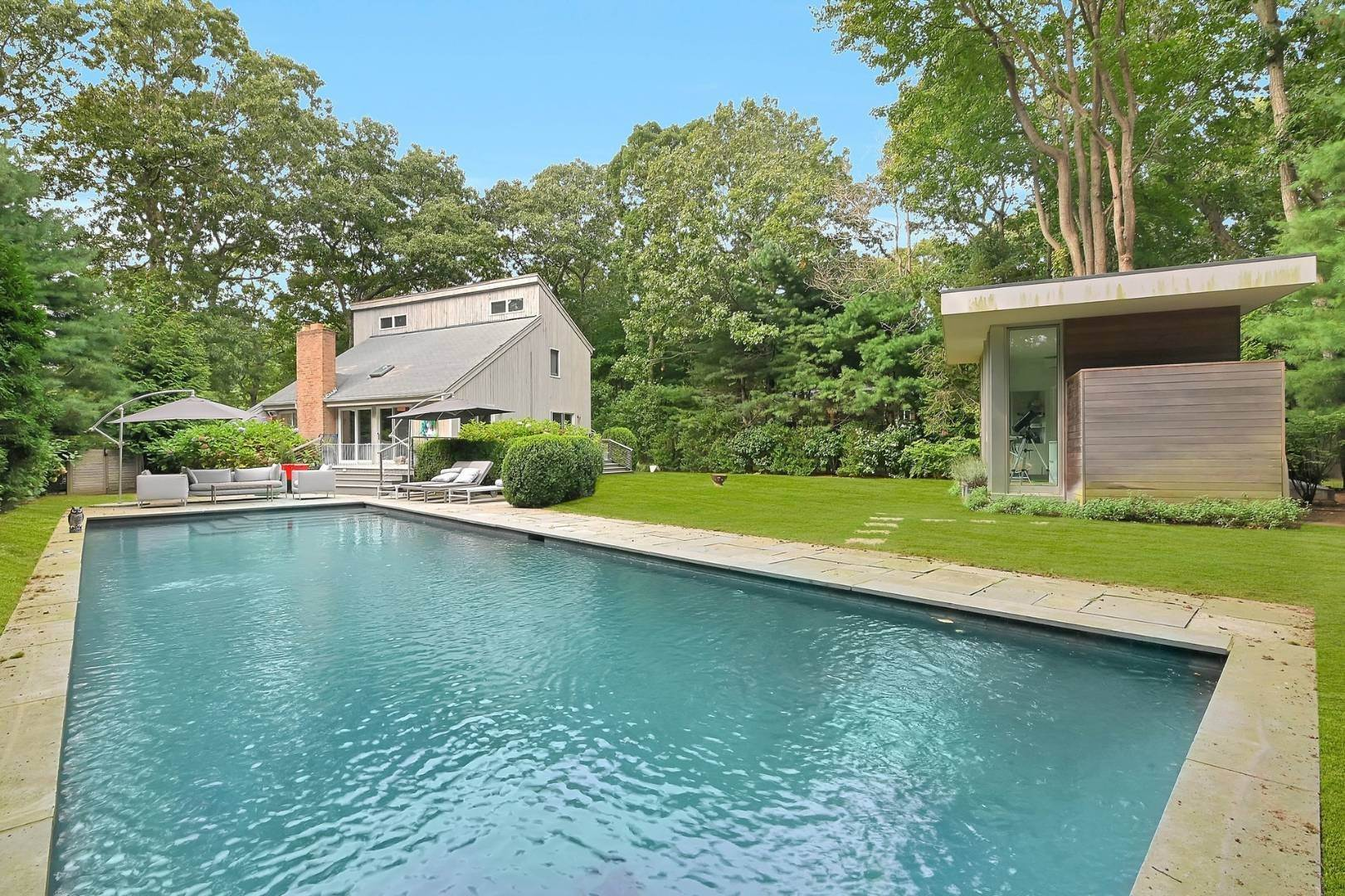 Single Family Home for Sale at Cool Beachy Modern In East Hampton 19 Waterhole Road, East Hampton, NY 11937