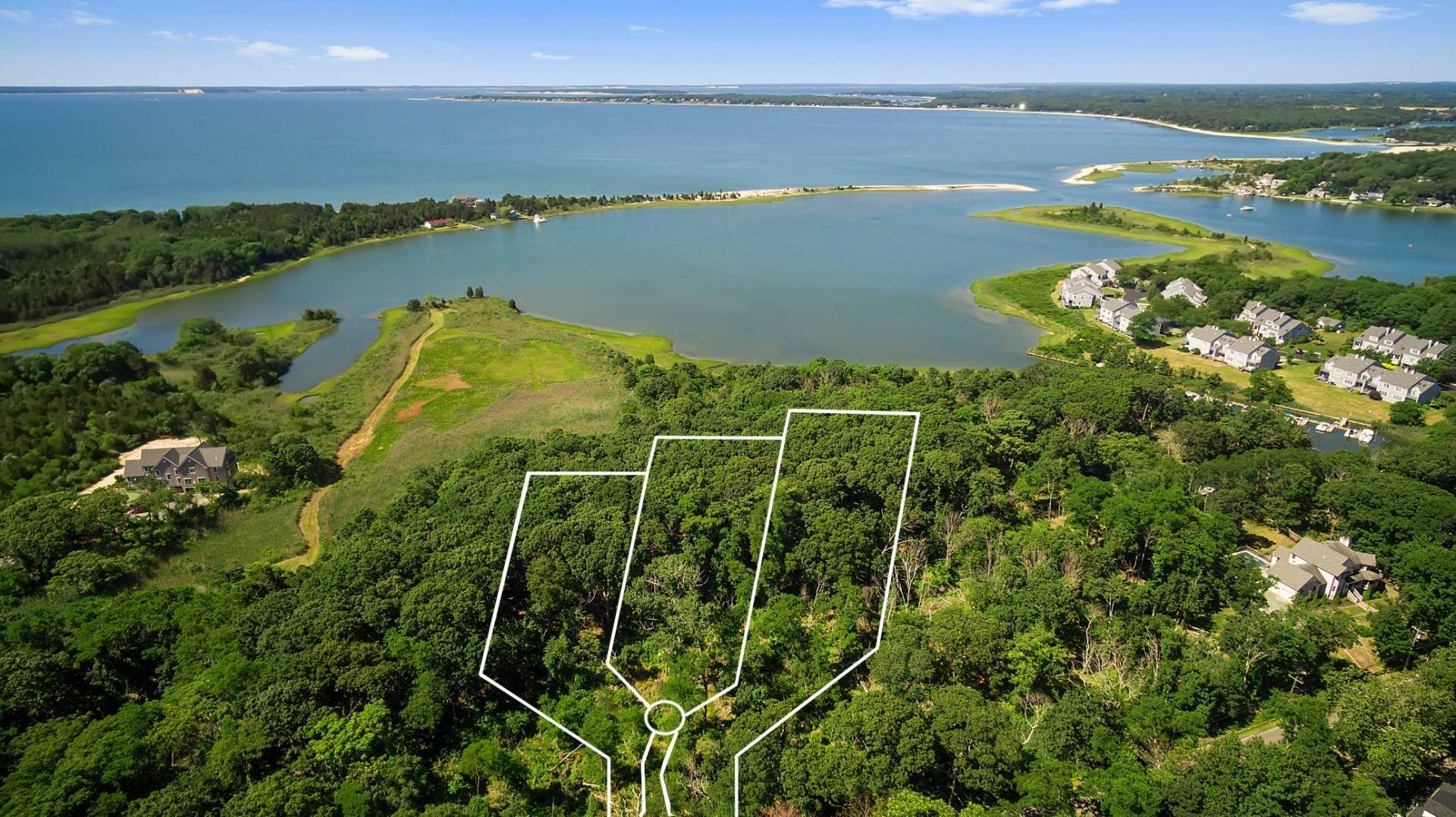 Land for Sale at Southold 14.5 Waterfront Acres 9230 Main Bayview Road, Southold, NY 11971