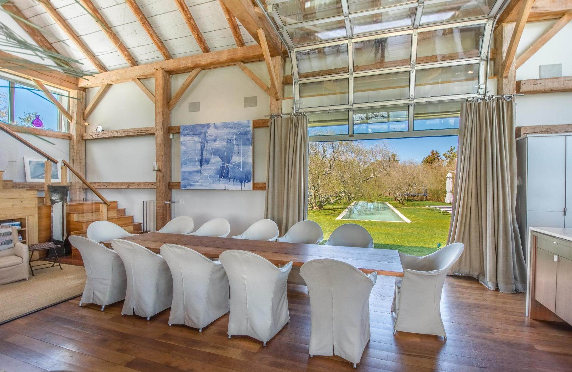 14. Single Family Home at Famous Fashion Designer's Private Oceanfront Retreat 135 Crestview Lane, Sagaponack Village, NY 11962