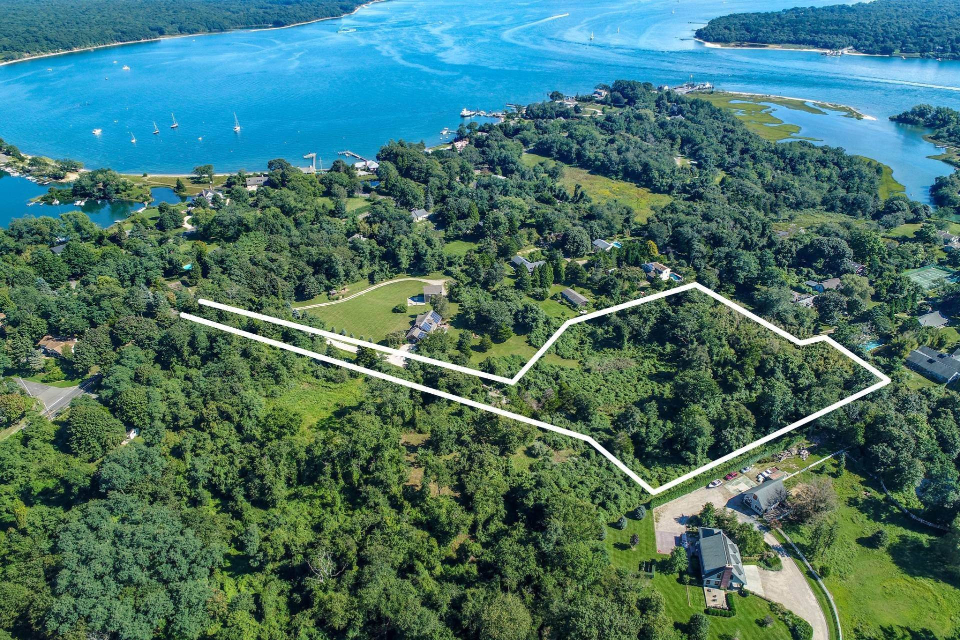 Land for Sale at Shelter Island Acreage Bordering Horse Farm 104 South Ferry Road, NY 11964