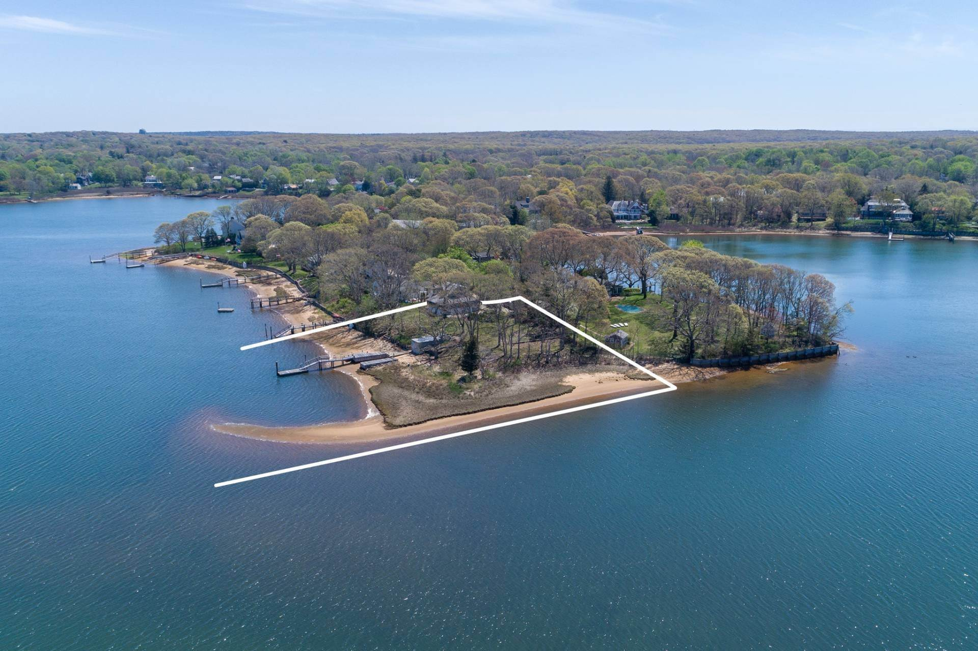 Single Family Home for Sale at Sag Harbor Village Waterfront 1 Bluff Point Lane, Sag Harbor, NY 11963