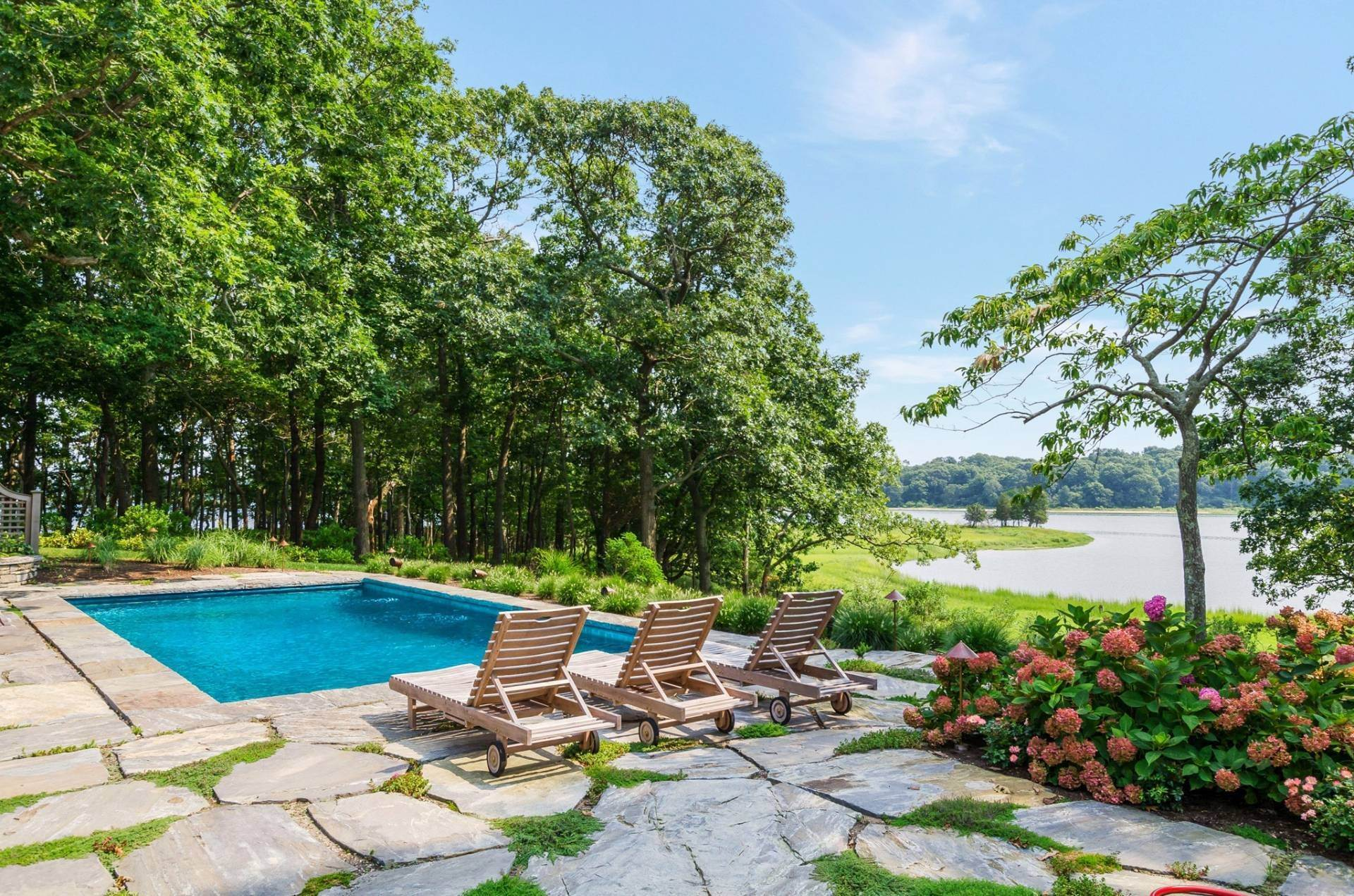 5. Single Family Home at Shelter Island Pristine Waterfront Compound With Pool And Dock 34a North Cartwright Road, NY 11964