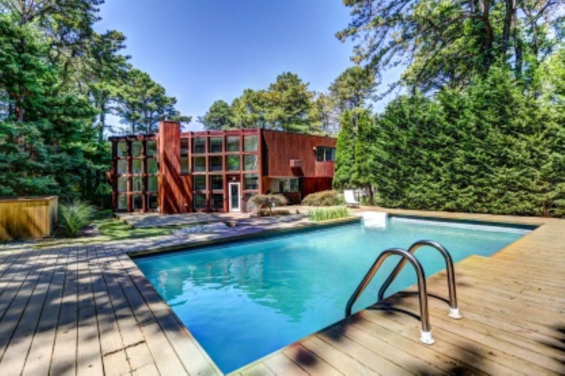 Single Family Home at 4 Bedroom Contemporary Home With Pool And Privacy Southampton, NY 11968
