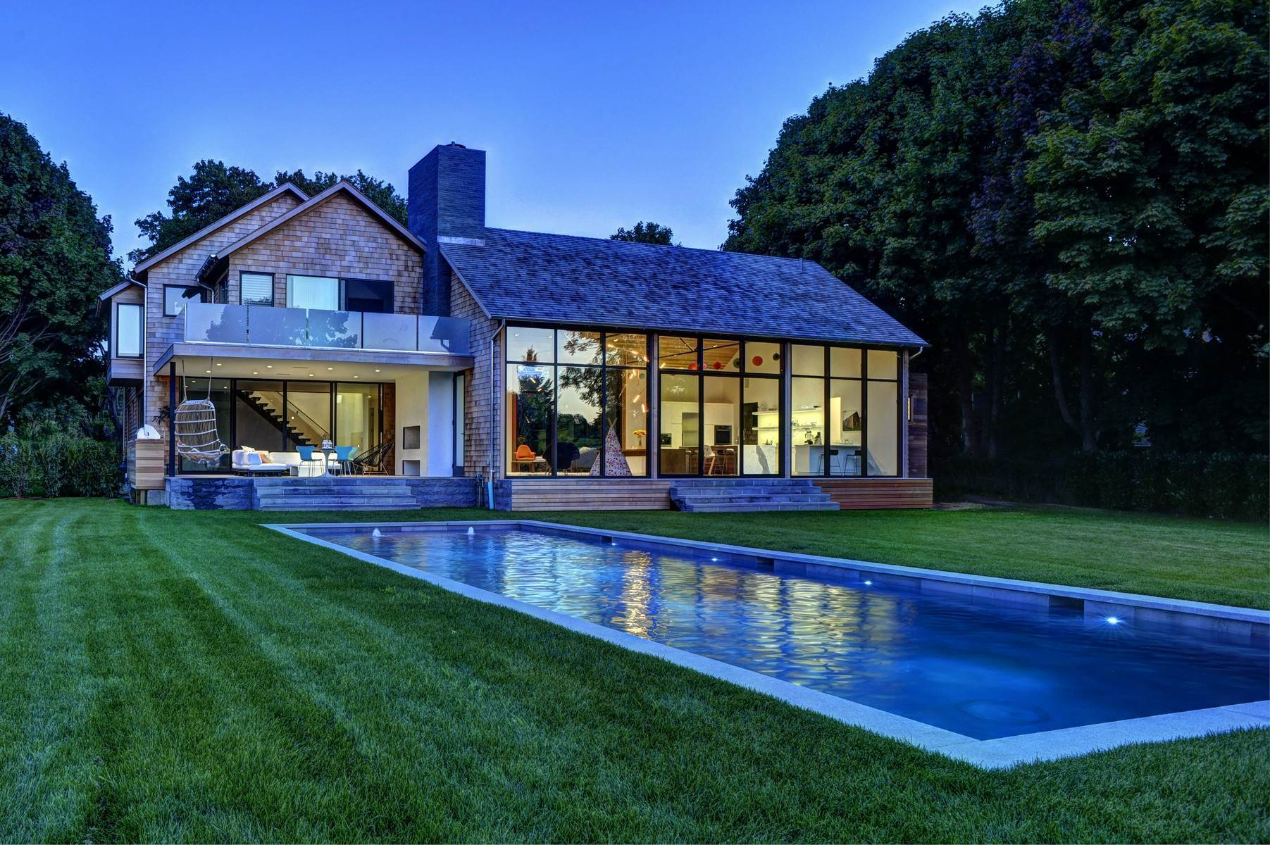 Single Family Home at Amagansett Modern With All The Amenities, Near To All 53 Abrahams Landing Road, Amagansett, NY 11930